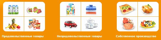 каталог товаров гипермаркета Карусель