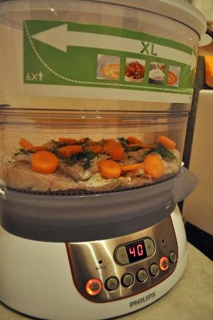 рецепты рыба в пароварке с фото