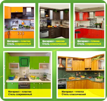 Кухни краснодар каталог товаро