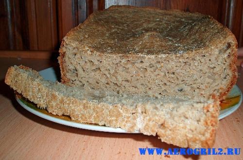 Пшенично-гречишный хлеба