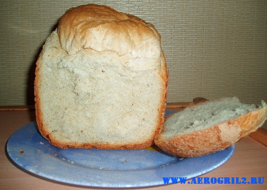 Селянский хлеб с овсяными хлопьями