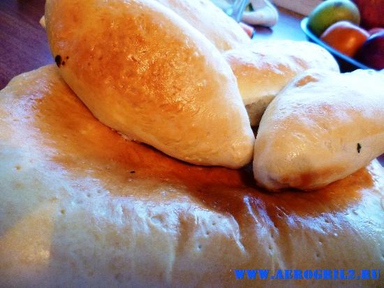 Пирожки с мясом в хлебопечке