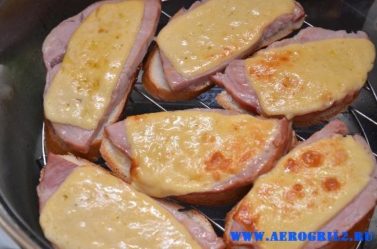 Рецепты для аэрогриля