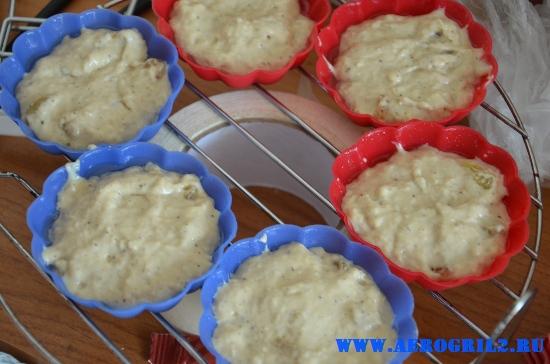 Ванильные кексы с изюмом