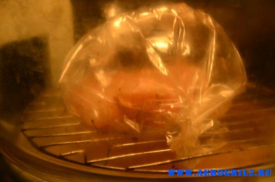 Рыба гриль в аэрогриле
