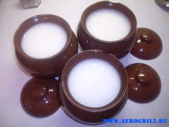 Пшенная каша в керамических горшочках