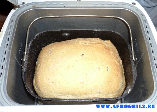 Белый хлеб с манкой