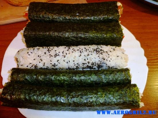 Приготовление суши в домашних условиях
