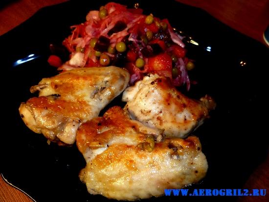 Жареный цыпленок в мультиварке