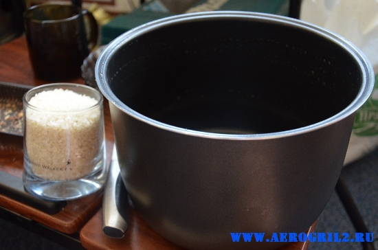 Рисовая каша с вишней