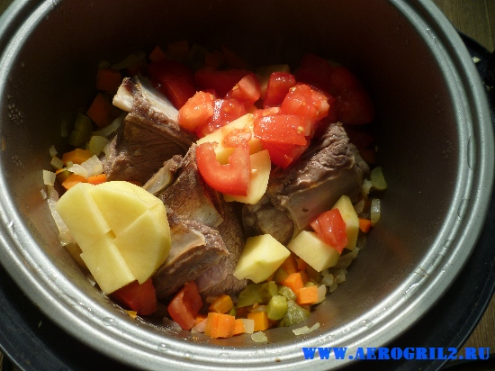 Кавказский суп