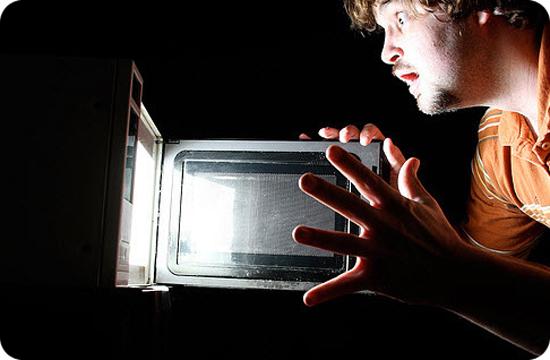 используем микроволновую печь