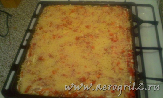 Рецепт простой пиццы