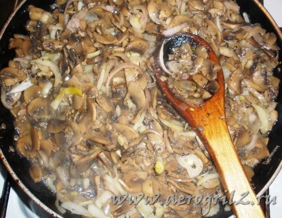 Как жарить грибы шампиньоны
