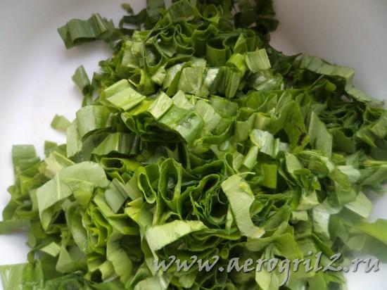 Салат из черемши и ее полезные свойства