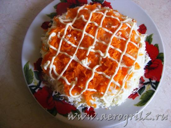 Овощной торт со свеклой