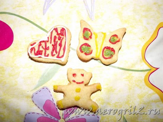 печенье в мультиварке - фото рецепт