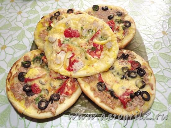 готовим пиццу в мультиварке