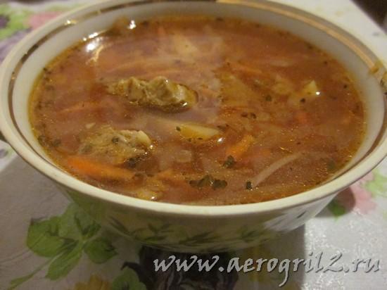 суп куриный из куриной грудки рецепт