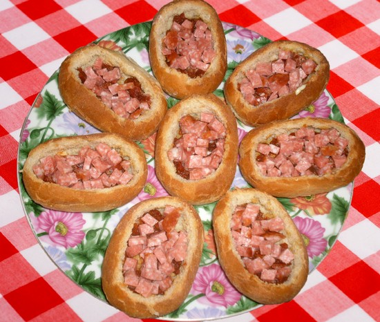 Яйца колбасой рецепты фото